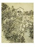 Garden of Flowers Giclée-Druck von Vincent van Gogh