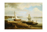 View on the Delaware Giclee Print by Thomas Birch