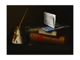 Still Life with Letter to Mr. Lask Giclee Print by William Michael Harnett