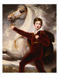 Portrait of a Boy Giclee Print by Thomas Stothard