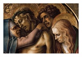 Detail of Pieta Giclee Print by Carlo Crivelli