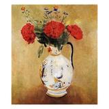 Vase with Flowers Giclée-Druck von Odilon Redon