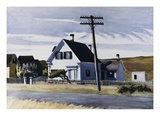 Lombard's House Giclee Print by Edward Hopper