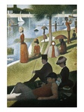 A Sunday on La Grande Jatte 1884, 1884-86 Giclee Print by Georges Seurat
