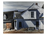 House on Pamet River Premium Giclee Print by Edward Hopper