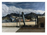 Saltillo Rooftops Giclee Print by Edward Hopper
