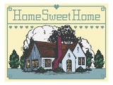 Home Sweet Home Giclee Print by Steve Collier