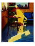 Sun in the D & M Cafe Giclee Print by Pam Ingalls
