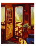 Screen Door Premium Giclee Print by Pam Ingalls