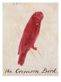 The Crimson Bird Giclée-Druck von Edward Lear