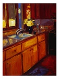 Cheri's Kitchen Giclee Print by Pam Ingalls