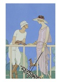 Polo Giclee Print by George Barbier