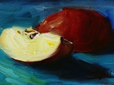 Apple Slices Photographic Print by Pam Ingalls