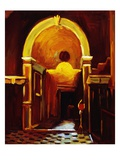 Museum Arch II Giclee Print by Pam Ingalls