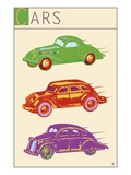 Cars Giclee Print by Steve Collier