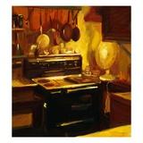 Warm Kitchen Giclee Print by Pam Ingalls