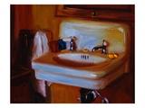 Donna's Sink Premium Giclee Print by Pam Ingalls