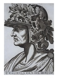 Gaius Caligula, Emperor of Rome Giclee Print by  Antonius