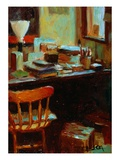Messy Desk Giclee Print by Pam Ingalls