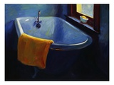 Blue Tub Giclee Print by Pam Ingalls