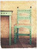 Santa Fe Chair Photographic Print by Jennifer Kennard