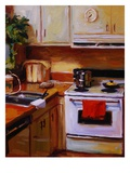 Lois' Kitchen Giclee Print by Pam Ingalls