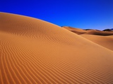 Patterns in Sand Dunes Photographic Print by Robert Glusic