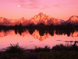 Mount Moran at Dusk Photographic Print by Robert Glusic
