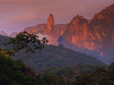 Rainforest and Mountains Photographic Print by Kevin Schafer