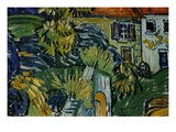 Detail of Stairway at Auvers Giclee Print by Vincent van Gogh