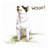 Darby Barking from Darby, the Special-Order Pup Giclee Print by Alexandra Day