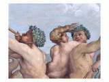 Detail Showing Figures from Galatea Giclee Print by  Raphael
