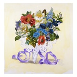 A Bouquet of Flowers from Good Dog Carl Giclee Print by Alexandra Day