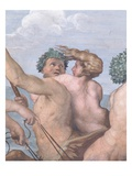 Detail of a Centaur and Sea Nymph from Galatea Giclee Print by  Raphael