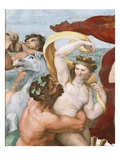 Fresco Depicting Nymphs and Centaurs Giclee Print by Araldo Luca