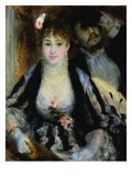 The Theatre Box (la Loge) Giclee Print by Pierre-Auguste Renoir