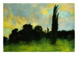 Landscape Giclee Print by Lesser Ury
