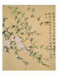 Flowers, from an Album of Ten Leaves Giclée-Druck von Zhou Xianji