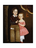 Portrait of Lydia and William Anderson Giclee Print by William Matthew Prior