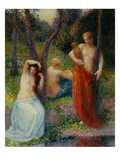 The Three Graces Giclee Print by Hippolyte Petitjean