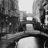 Distant View of Bridge of Sighs Photographic Print by  Bettmann