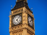 Clock-Face of Big Ben Photographic Print by Mark Karrass
