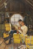 James Gurney Illustrates a Promotion of the One Hundred Years Index Giclee Print by James M. Gurney