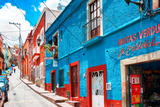 ¡Viva Mexico! Collection - Colorful Street - Guanajuato V Photographic Print by Philippe Hugonnard