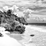 ¡Viva Mexico! Square Collection - Tulum Caribbean Coastline VIII Photographic Print by Philippe Hugonnard