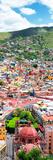 ¡Viva Mexico! Panoramic Collection - Guanajuato Colorful Cityscape VI Reproduction photographique par Philippe Hugonnard