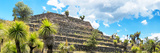 ¡Viva Mexico! Panoramic Collection - Pyramid of Cantona Archaeological Site VI Photographic Print by Philippe Hugonnard