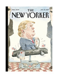 The New Yorker Cover - January 23, 2017 Regular Giclee Print by Barry Blitt