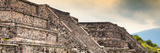 ¡Viva Mexico! Panoramic Collection - Teotihuacan Pyramids III Photographic Print by Philippe Hugonnard