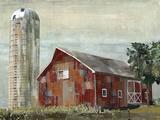 Barn Silo - Tulsa Giclee Print by Mark Chandon